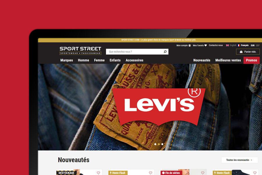 Logo et boutique en ligne